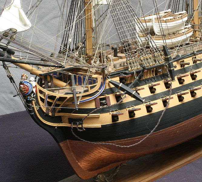how to build a model ship from scratch